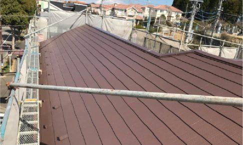 葛飾区の屋根塗装の施工事例