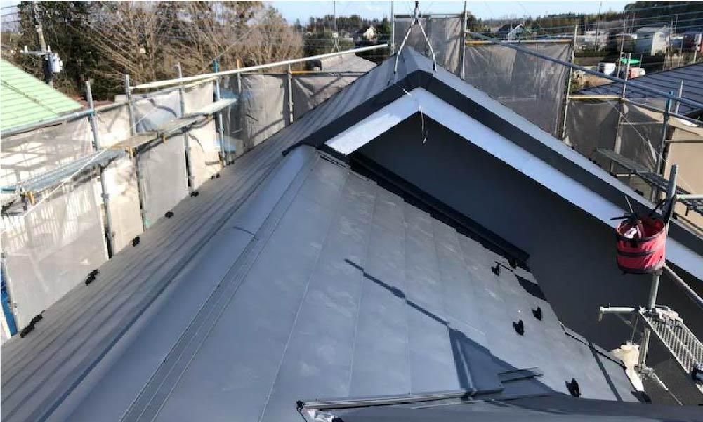 千葉県千葉市の屋根カバー工法・外壁塗装の施工事例