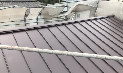 鎌ケ谷市の屋根葺き替え工事の施工事例