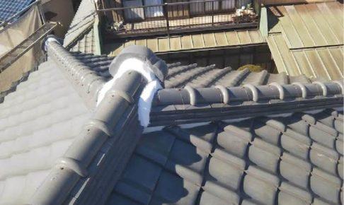 八千代市の屋根修理の施工事例w