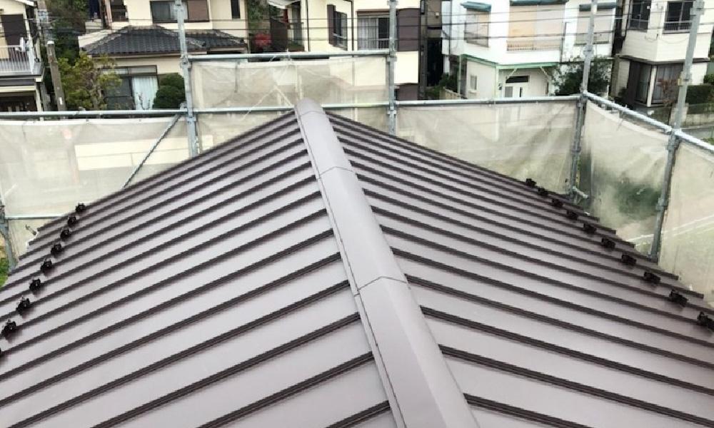 鎌ケ谷市の屋根の葺き替え工事
