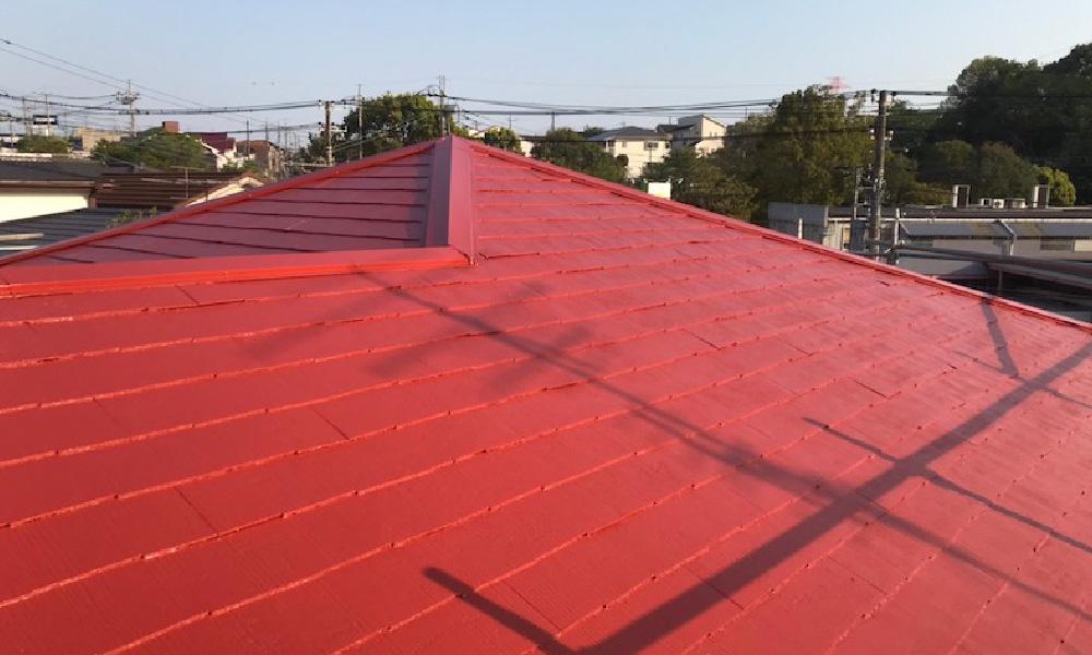 佐倉市の屋根塗装の施工事例
