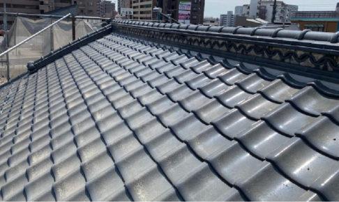 船橋市の屋根の葺き直し工事