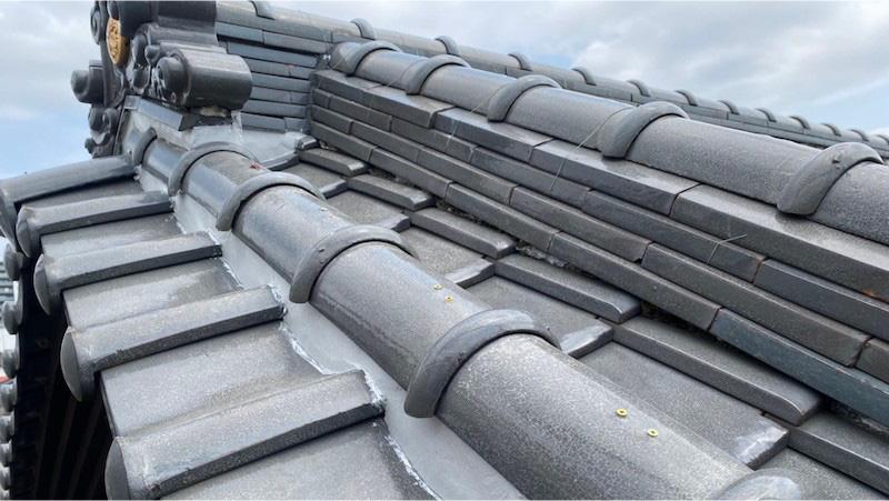 船橋市の屋根の葺き直し工事の施工後の様子
