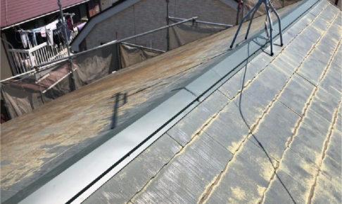 船橋市の棟板金の交換工事