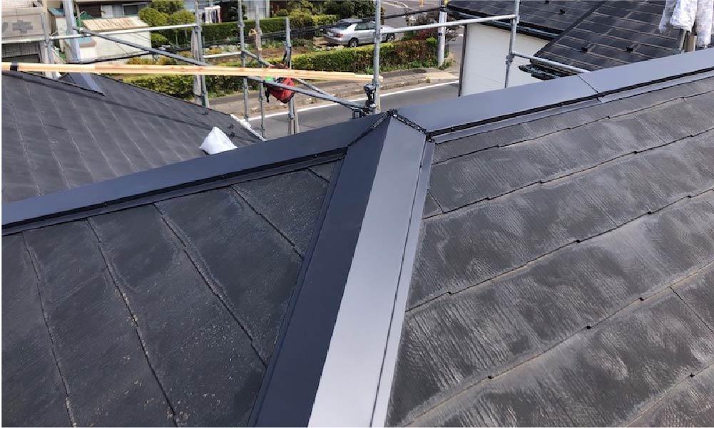 柏市の屋根修理の施工事例