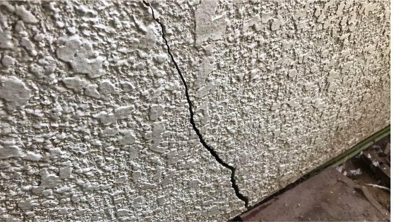 市川市の外壁塗装のひび割れ補修