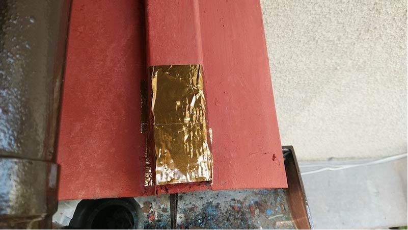 トタン屋根塗装の補修