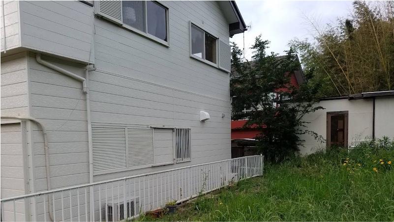 外壁の雨漏り修理の施工後の様子