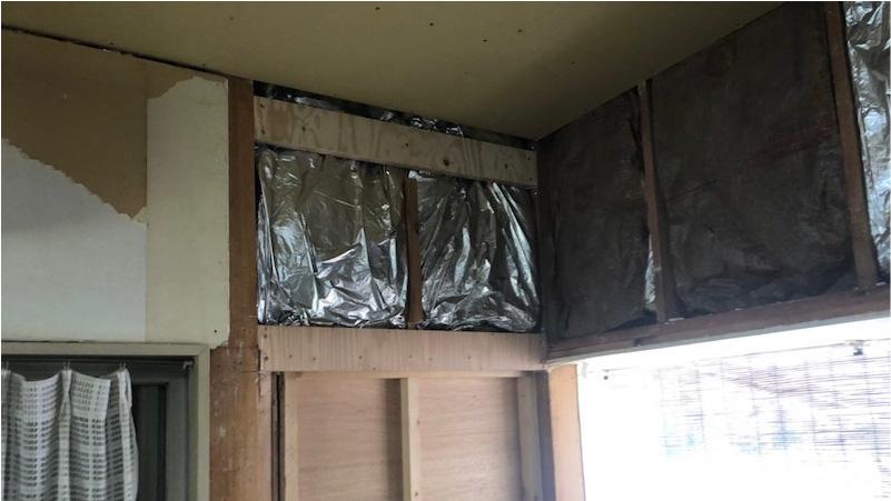 断熱材の施工