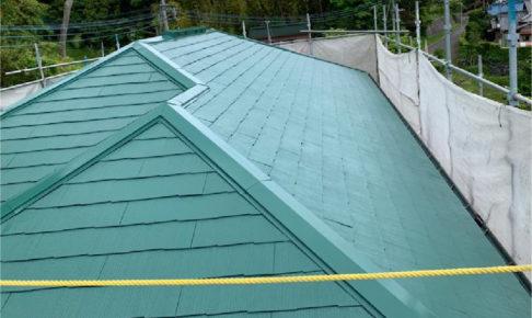 市原市の屋根塗装の施工事例
