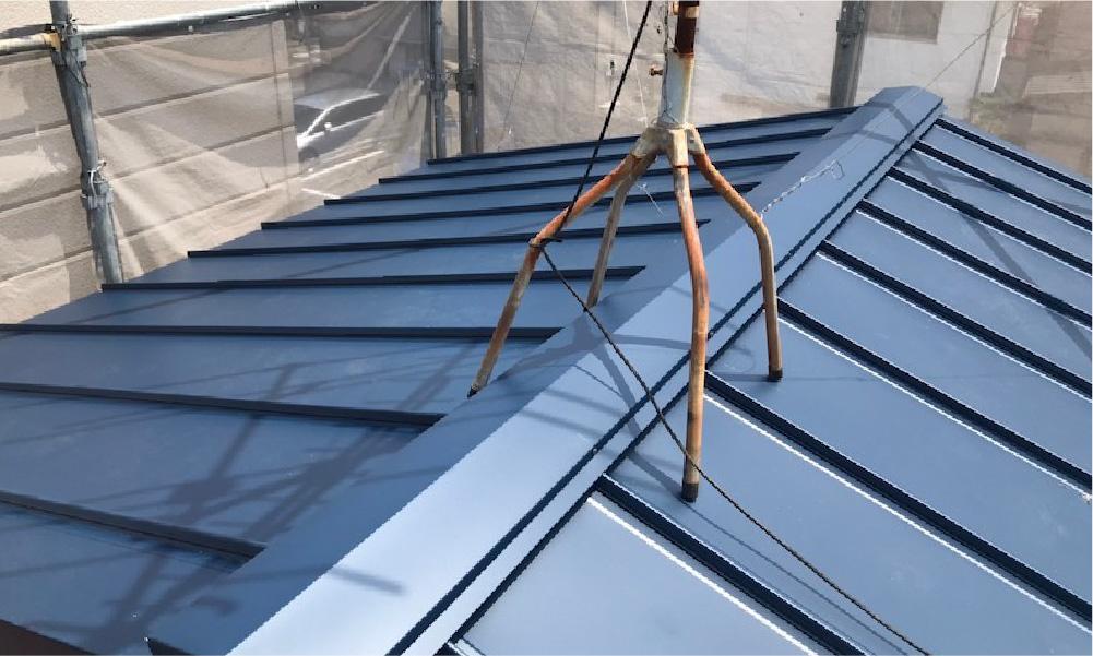江戸川区の屋根葺き替え工事の施工事例
