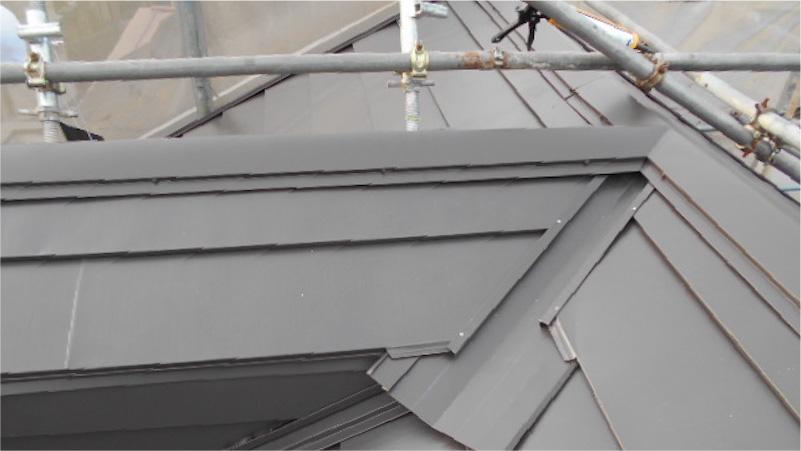ガルバリウム鋼板の施工