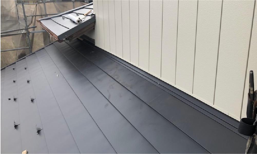 千葉市の屋根の葺き替え工事の施工事例