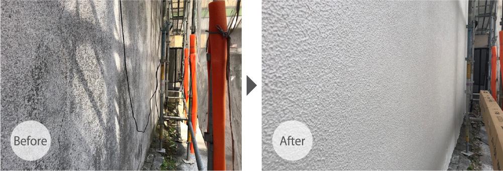 外壁塗装のビフォーアフター