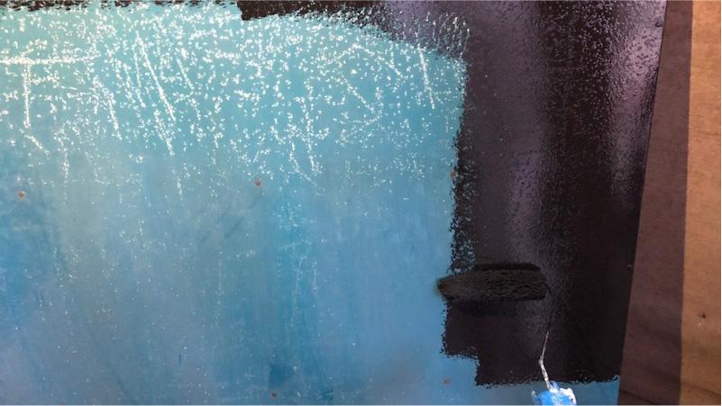 鉄部の塗装