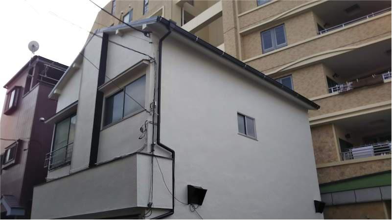 屋根葺き替え・外壁塗装の施工後の様子