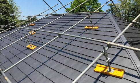 香取郡の屋根修理の施工事例