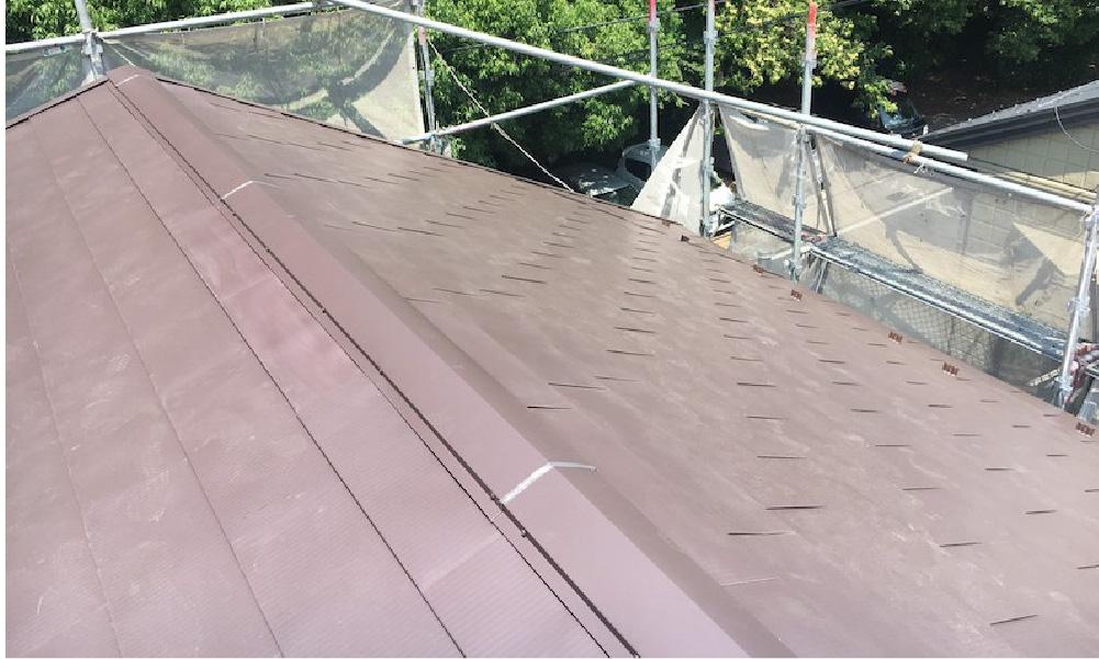 千葉県流山市の屋根葺き替え工事の施工事例