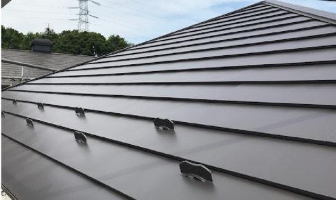 柏市の屋根リフォームの施工事例