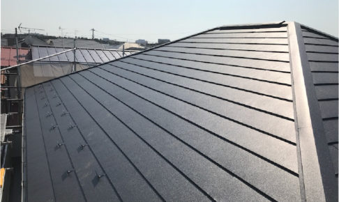 習志野市の屋根リフォームの施工事例