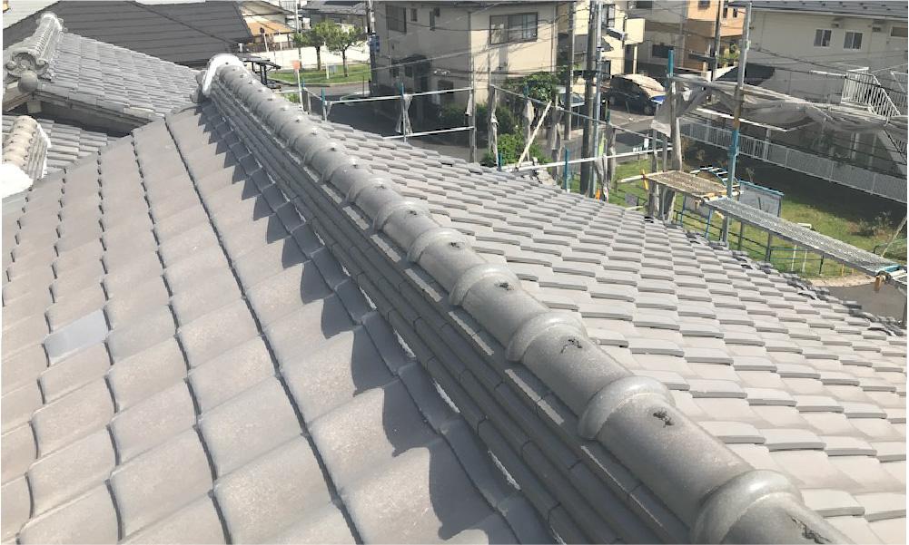 千葉市の屋根葺き替え工事の施工事例