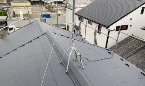 船橋市の屋根葺き替え工事