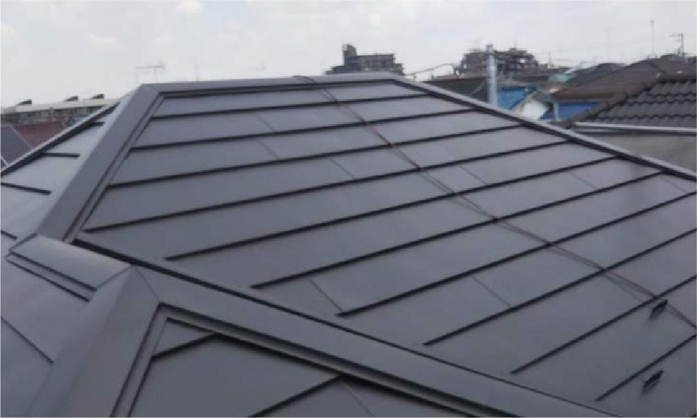 千葉市稲毛区の屋根の葺き替え工事の施工事例