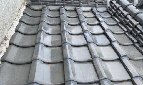 八街市の屋根葺き替え工事