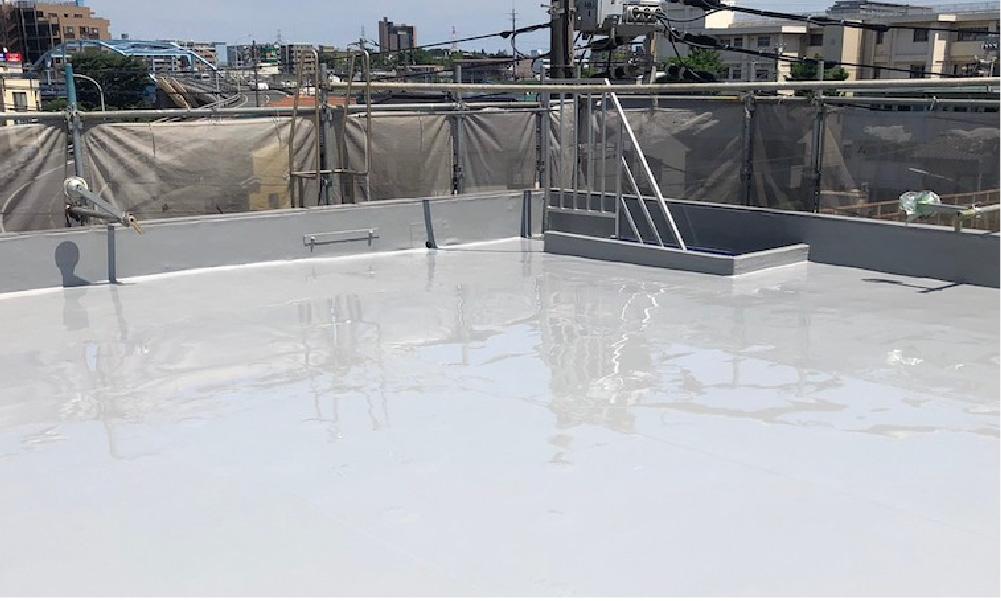 千葉市の屋上防水工事の施工事例