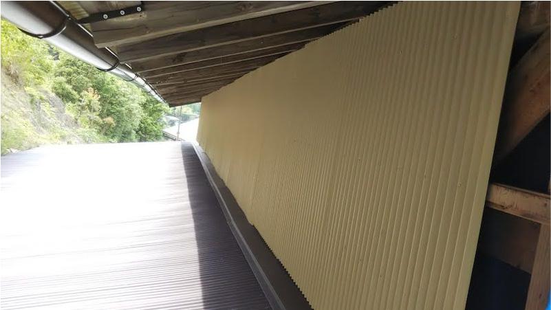 外壁材の施工