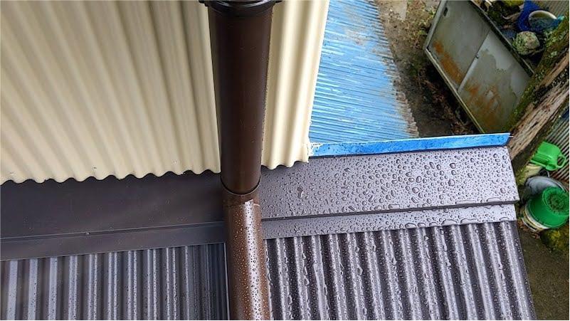 雨樋の施工