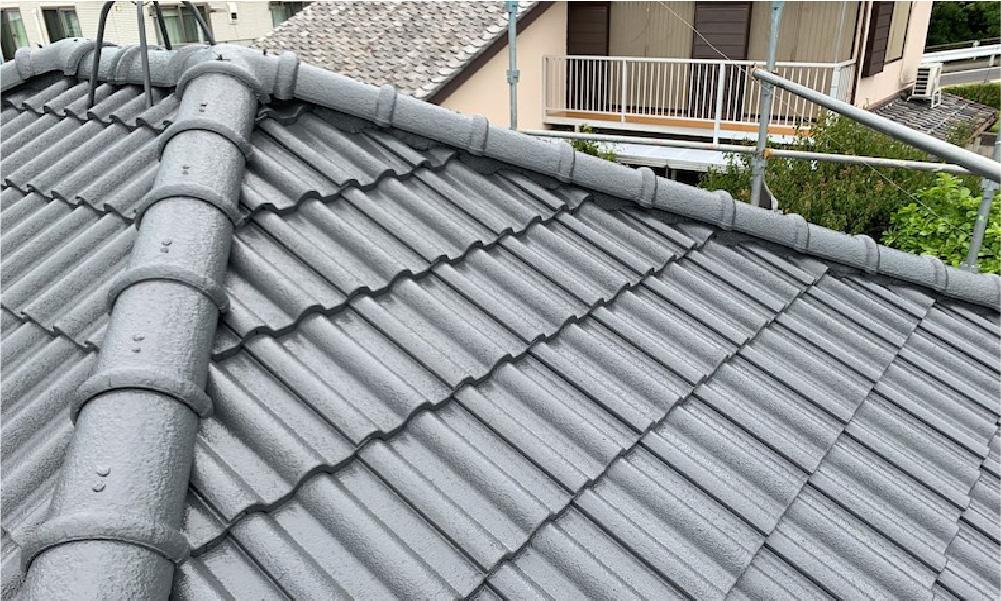 千葉市中央区の屋根塗装の施工事例