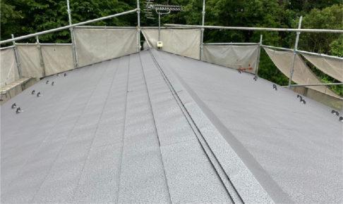 佐倉市の屋根カバー工法の施工事例