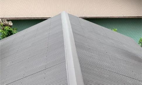 市原市の倉庫の屋根葺き替え工事