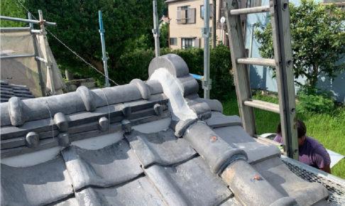 富津市の雨漏り修理