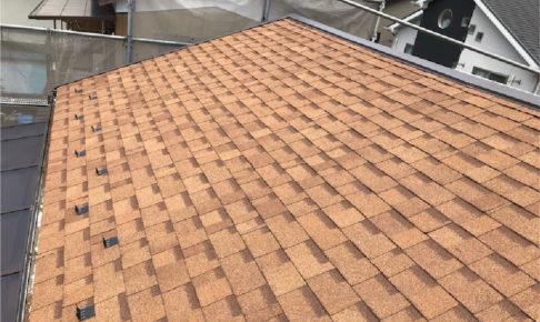 大宮区の屋根葺き替え工事