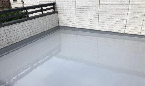 佐倉市の屋上防水工事の施工事例
