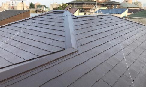 墨田区の屋根塗装の施工事例