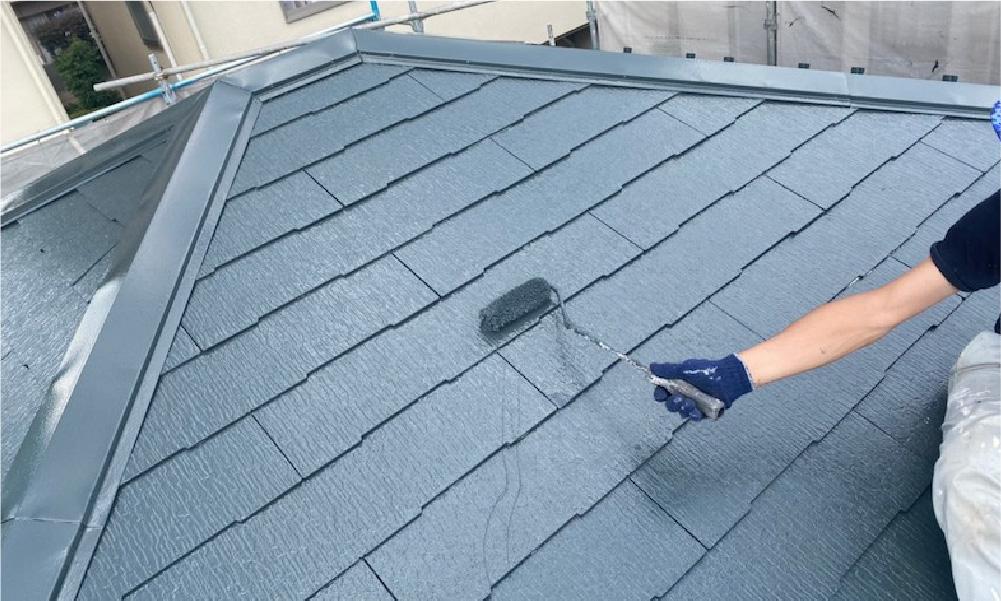 フンバシ氏の屋根塗装の工事