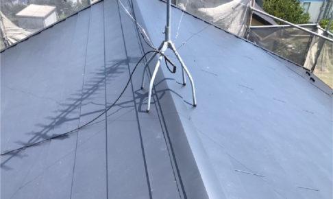 大網白里市の屋根カバー工法の施工事例