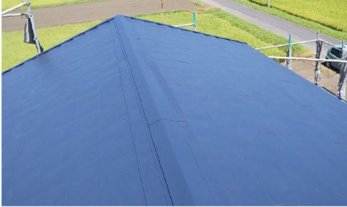 匝瑳市の屋根カバー工法の施工事例