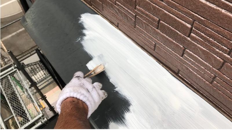 霧よけの塗装