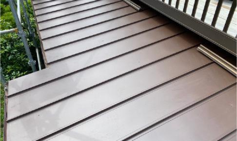 船橋市の下屋根の葺き替え工事