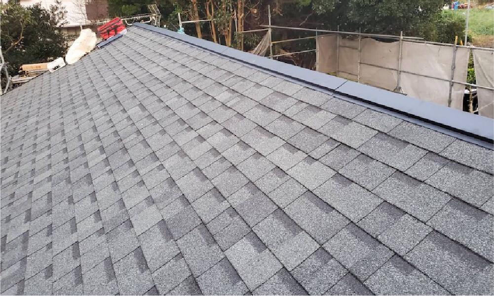 袖ケ浦市の屋根葺き替え工事の施工事例
