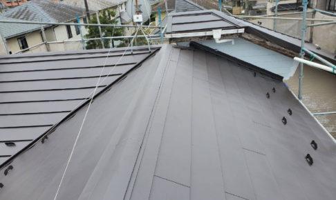東金市の屋根葺き替え工事の施工事例