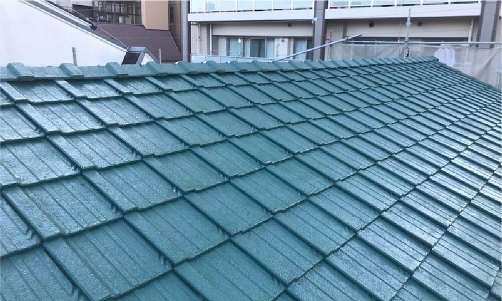 荒川区の屋根塗装の施工事例