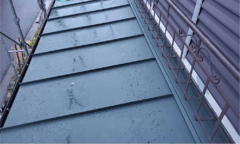 船橋市の屋根葺き替え工事の施工事例