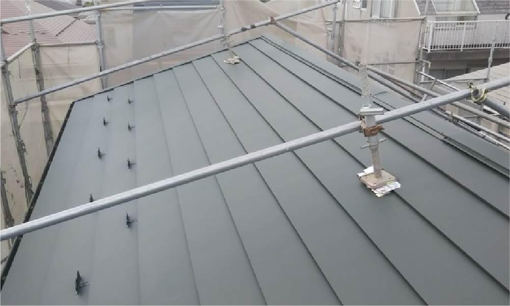 杉並区の屋根葺き替え工事の施工事例