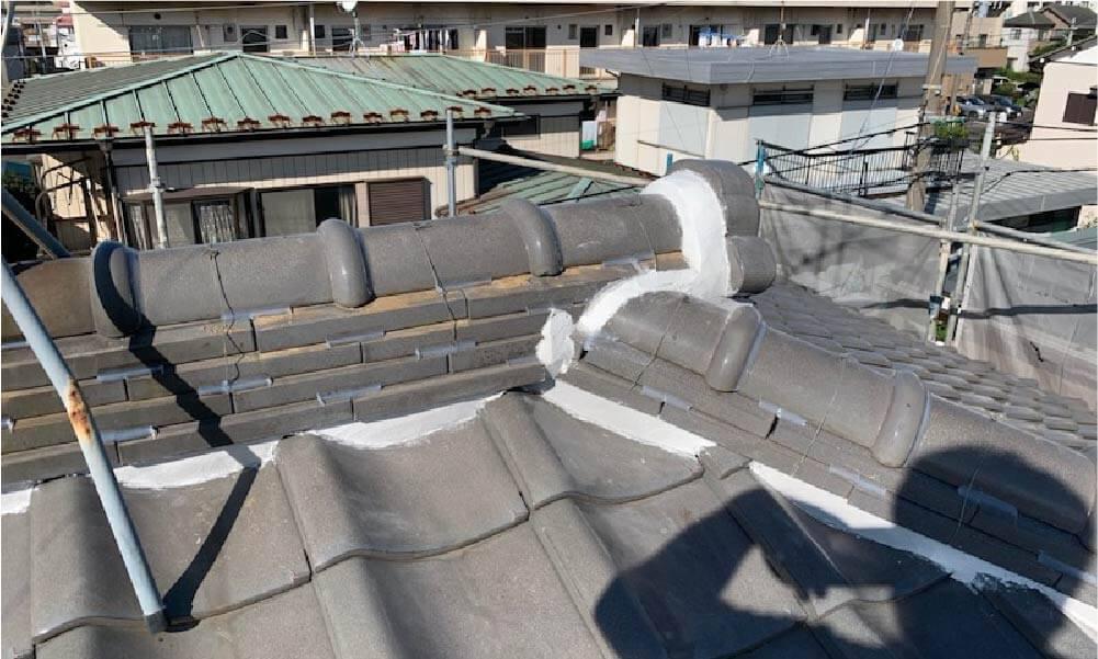 船橋市の屋根修理の施工事例